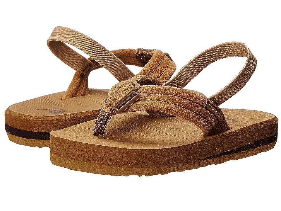 Quiksilver Kids Carver Suede (Toddler) (Tan 1) Boys Shoes