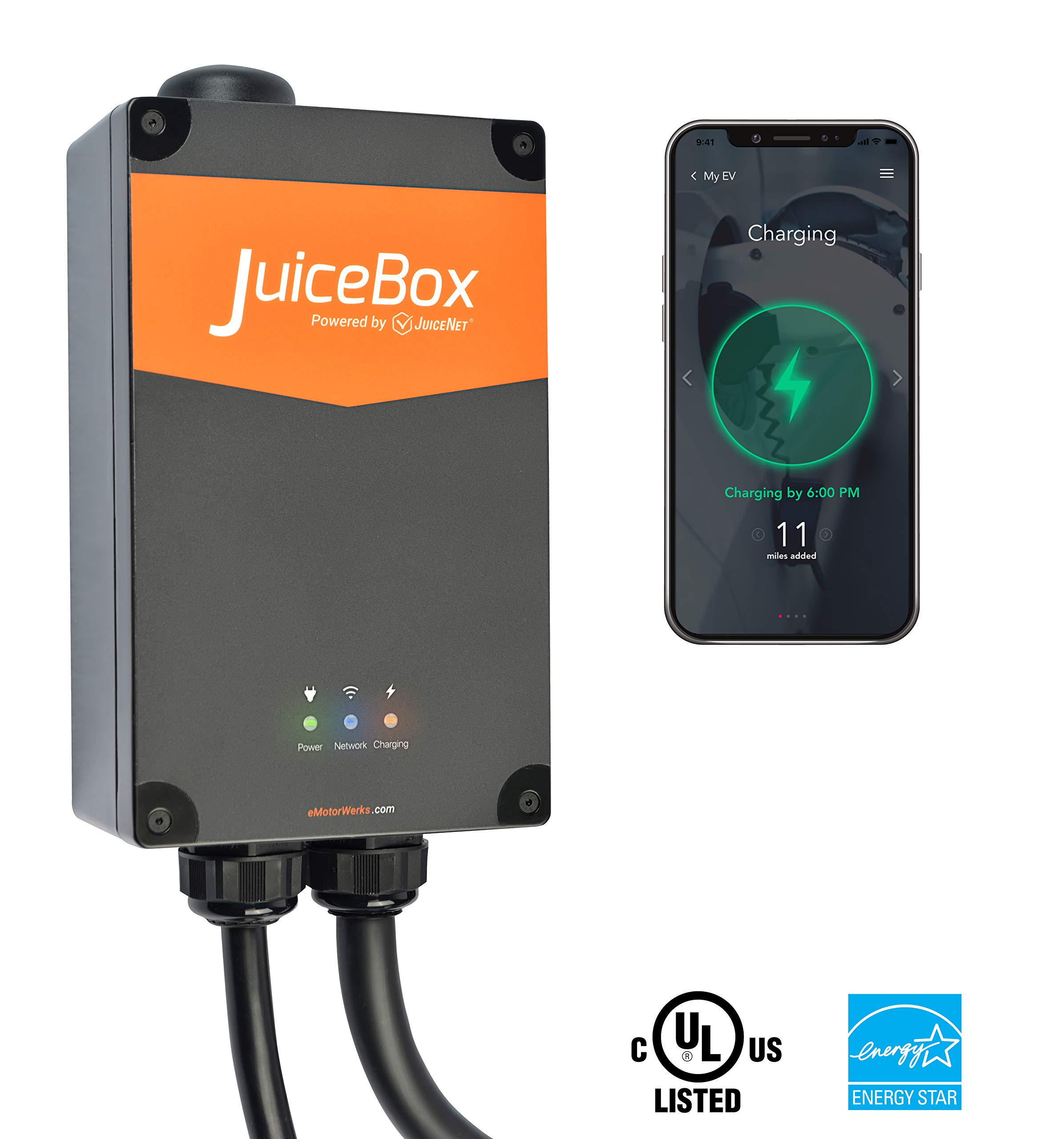 JuiceBox Electric Vehicle Charging Station