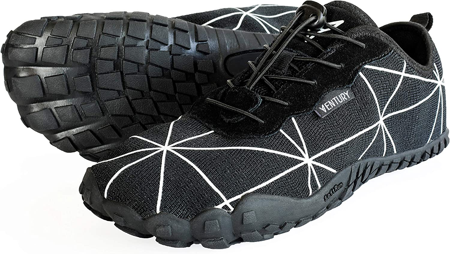 Ventury Zero Barefoot Trail Running Shoes Minimalist Runners With Wide Toe Box Zero Drop Sole And Odor Free Insole With Real Silver For Men And Women Amazon Co Uk Shoes Bags