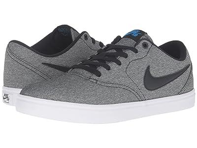 Nike SB Check Solar Canvas (Black/Photo Blue/White) Men