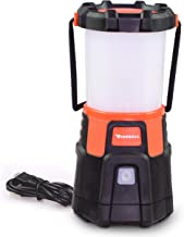 Blazin' Fireball | Brightest Rechargeable LED Camping Lantern | Storm, Hurricane, Emergency, Power Outage Lamp| Micro USB Charger | Power Bank for Phones | 1000 Lumen Light