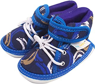 Ole Baby Touch Fastener with Lace Whistle Musical Outdoor First Walking Shoes 0-06 Months