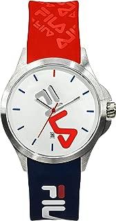 Fila   fila n°181   38-181-005   reloj Mens Analog Quartz Watch with Silicone bracelet 38-181-005