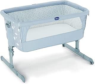 Chicco Next2Me - Cuna de colecho con anclaje a cama, 6 alturas, colección 2017, color gris estampado