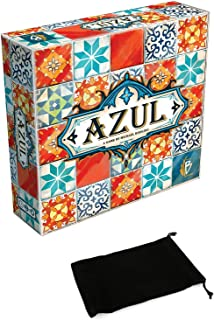 Azul Tiles Board Game for Kids or Children / Party Boardgame Bundle with Drawstring Bag
