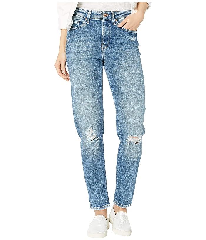 Vintage High Waisted Trousers, Sailor Pants, Jeans Mavi Jeans Cindy High-Rise Mom Jean in Mid Ripped LA Vintage Mid Ripped LA Vintage Womens Jeans $118.00 AT vintagedancer.com