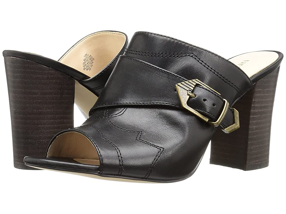 Nine West Betty (Black Leather) High Heels