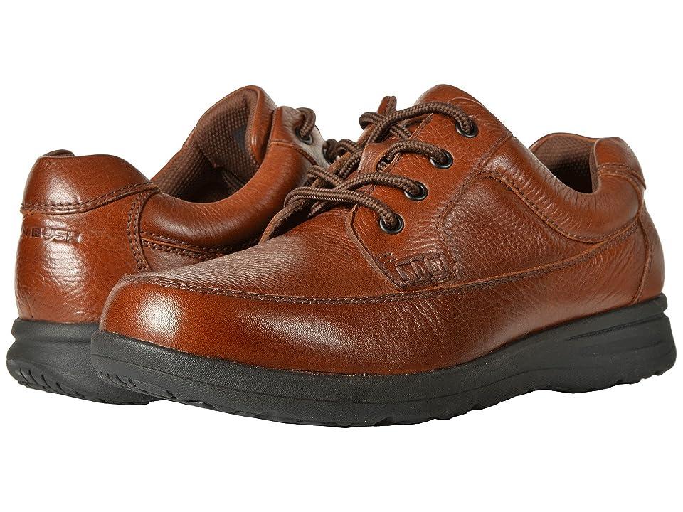 Nunn Bush Cam Oxford Casual Walking Shoe (Cognac Tumbled Leather) Men