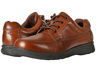 Nunn Bush Cam Oxford Casual Walking Shoe (Cognac Tumbled Leather) Men