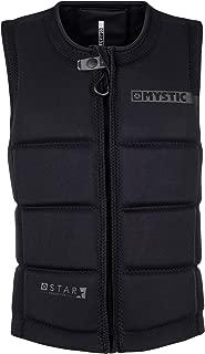 Mystic 2018 Star Front Zip Wake Impact Vest Black 180152