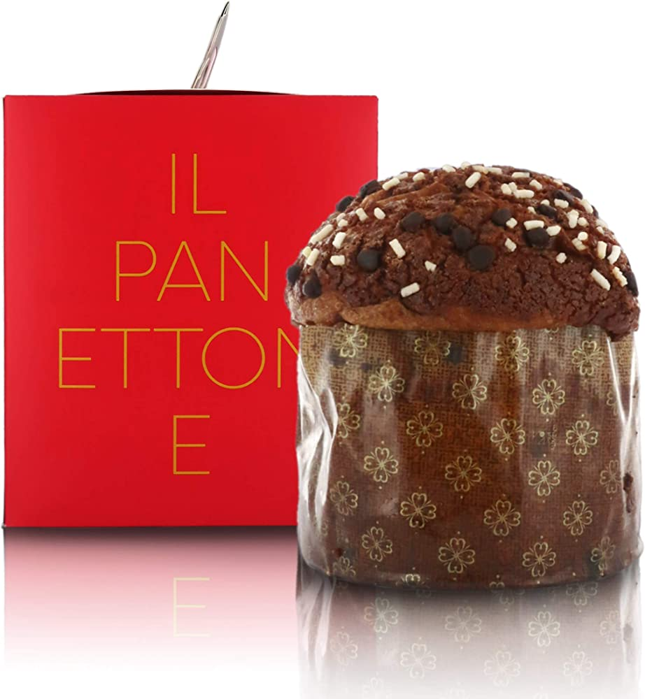 Cannavacciuolo panettone artigianale al cioccolato gianduia - 1kg CAN0000006O