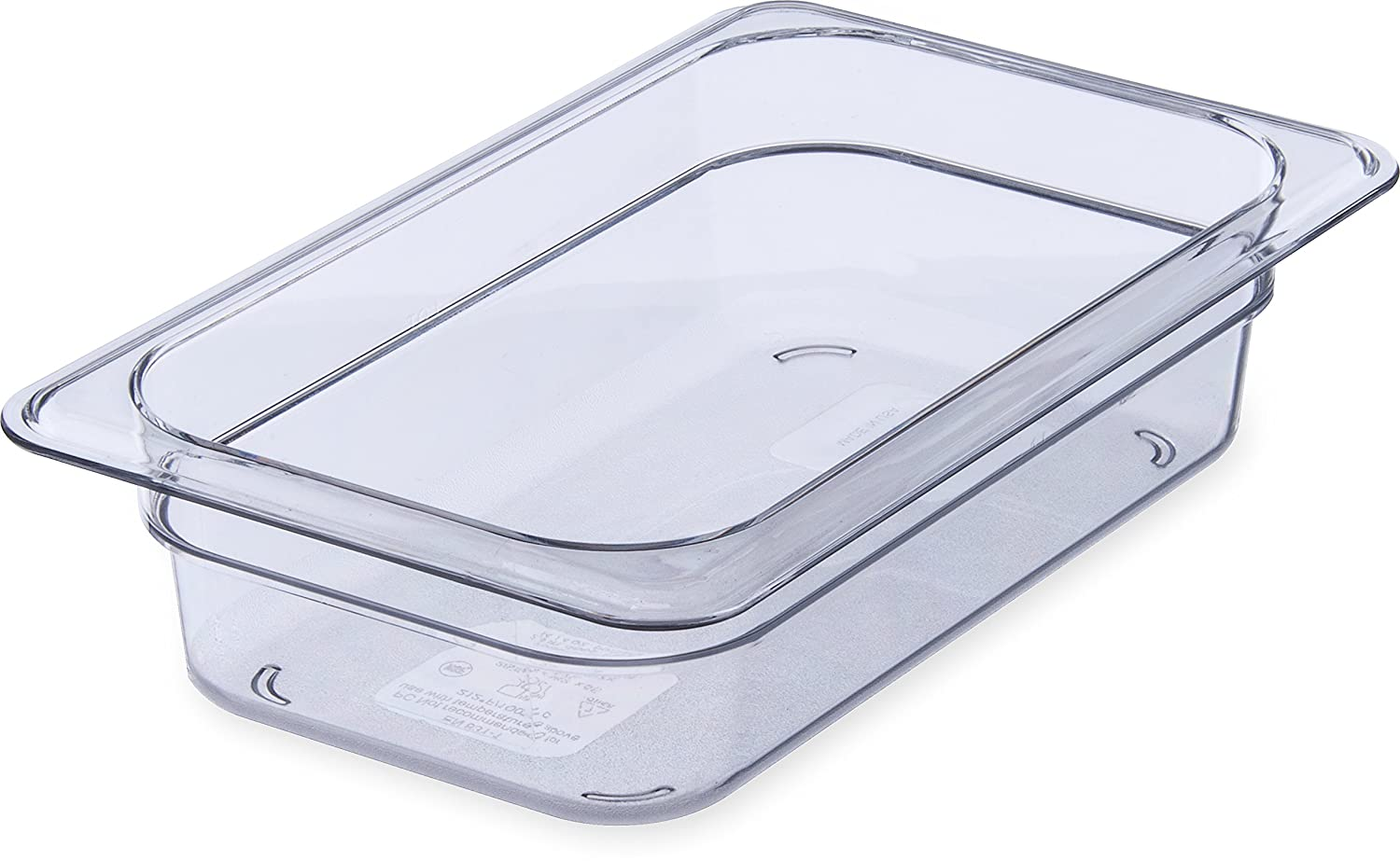 Carlisle 3068007 StorPlus Fourth Ranking Recommendation TOP18 Size 2 Food Polycarbonate Pan