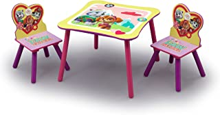 Nick Jr. PAW Patrol - Skye and Everest - Kids Table and Chairs Set by Delta Children