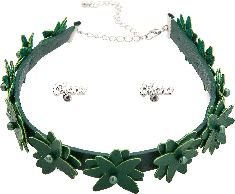 Disney Lilo Jewelry Set for Women - Lilo & Stitch Green