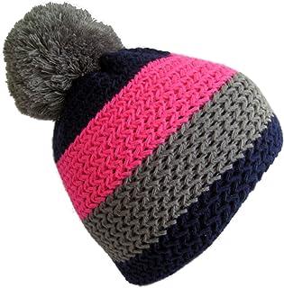 Frost Hats Winter Ski Beanie Striped Fluorescent Hat M2013-5