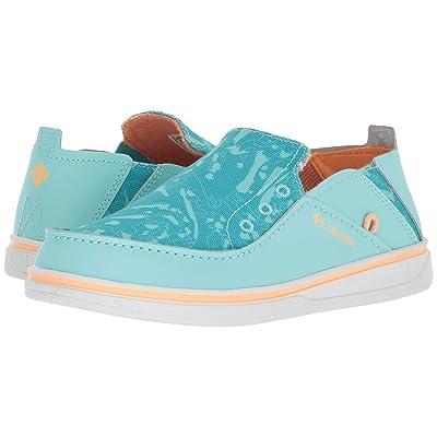 Columbia Kids Bahama (Toddler/Little Kid/Big Kid) (Gulf Stream/Peach) Girls Shoes