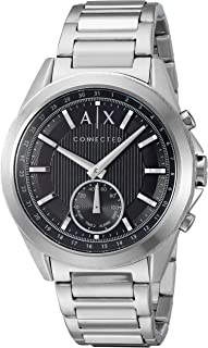Armani Exchange Men's Hybrid Smartwatch, Stainless Steel, 44 mm, AXT1006
