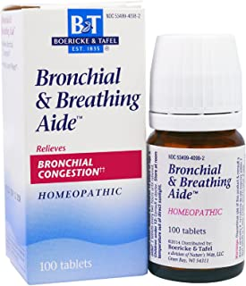 Nature's Way Bronchial and Breathing Aide, 100 Tablets