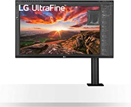 """LG 32UN880-B 32"""" UltraFine Display Ergo UHD 4K IPS Display with HDR 10 Compatibility and USB Type-C Connectivity, Black (R..."""