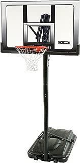 Lifetime Portable Basketball System with Shatterproof Backboard