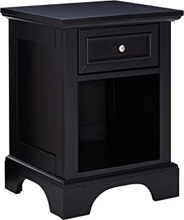 Bedford Black Night Stand by Home Styles