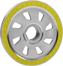 IAP Performance AC105256 Crankshaft Pulley (Yellow Slotted Degree for VW Beetle)