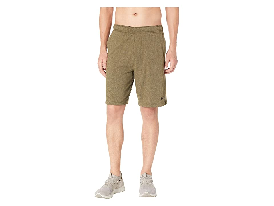 Nike Training Short (Olive Canvas/Heather/Black) Men