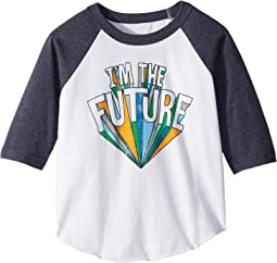 Chaser Kids - Vintage Jersey I'm The Future Tee (Toddler/Little Kids)