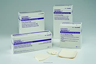 Kendall AMD Antimicrobial Foam Dressings, Amd Antimicrobial Fm Drs 4X4, (1 BOX, 10 EACH)