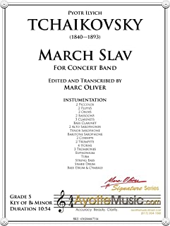March Slav (Concert Band Transcription) Full Score and Parts