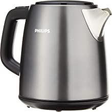 Philips HD9349/12 Daily Collection Kettle, 1.0 L, 2000W - Titanium, Black