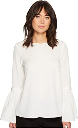 Ellen Tracy - Trench Sleeve Blouse