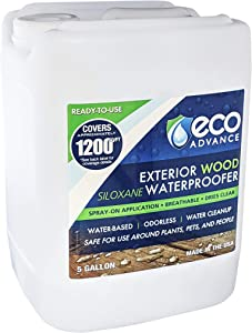 Eco Advance 5 Gallon Exterior Wood Siloxane Waterproofer-Ready to Use