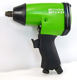 Dynamic Power Air Impact Wrench, 1/2 Inch, Composite Impact Wrench