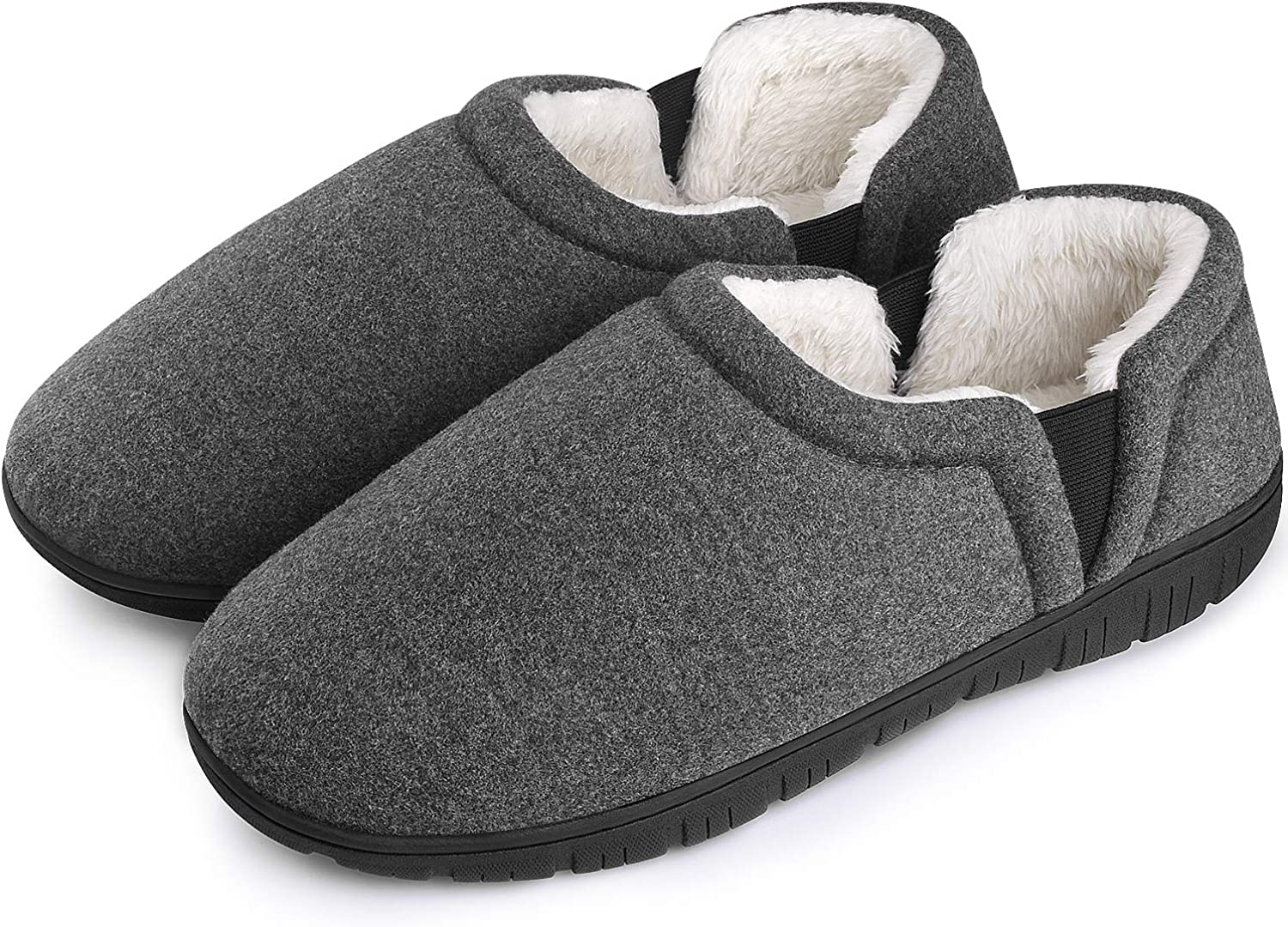 Homitem Mens Slippers Cozy Memory Foam with A surprise price is realized Dual Indefinitely Medial