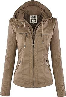 Best beige leather jacket ladies Reviews