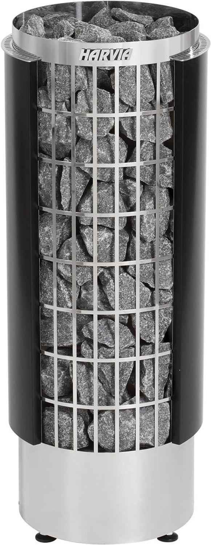 Harvia Cilindro Saunaofen - PC70HE 6,8 kW wird separates Steuergert bentig, Farbe  Schwarz