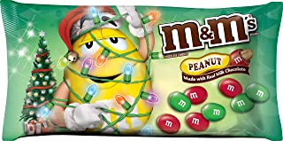 M&M's Peanut Chocolate Candies for The Holidays, 11.4 Ounce