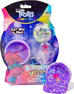 Trolls World Tour Slimygloop Mix'Ems by Horizon Group Usa, Mix in Trolls Figurines, Sparkle, Confetti & More To Make Your ...