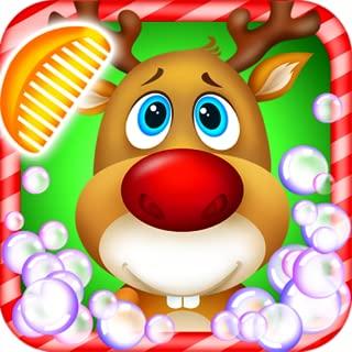 Pet Spa Salon: North Pole - Christmas Time Game for Kids