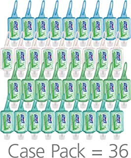 PURELL Advanced Hand Sanitizer Soothing Gel, Fresh scent, with Aloe and Vitamin E - 1 fl oz JELLY WRAP Carrier (Pack of 36 - JELLY WRAP Color Will Vary) - 3903-36-CMR