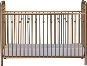 Little Seeds Monarch Hill Ivy Metal Crib, Gold