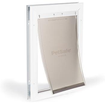 PetSafe Freedom Aluminum Dog and Cat Door - Durable Frame - Small, Medium, Large, X-Large Pets
