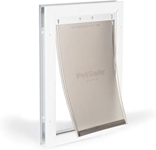 PetSafe Freedom Aluminum Dog and Cat Door - Durable Frame - Small, Medium, Large, X-Large Pets
