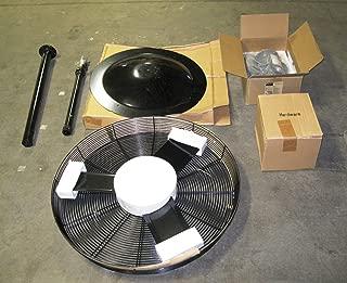 Dayton 6ALE9 Air Circulator, Pedestal Mtg, 30 In, 115 V