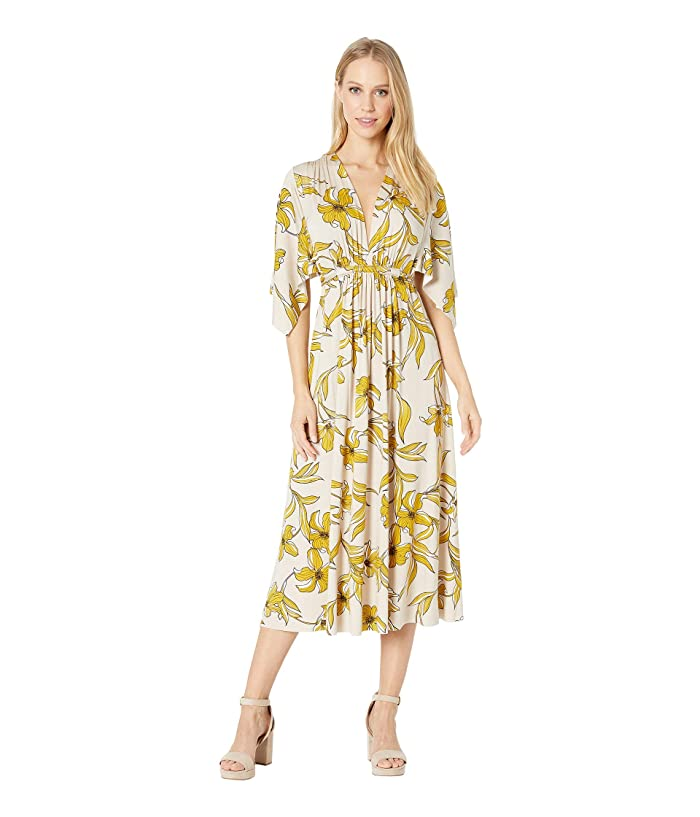 Rachel Pally Mid-Length Caftan Dress (Striped Lily) Women's Dress