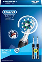 Oral-B Pro 2900 Şarj Edilebilir Diş Fırçası, Siyah, 2'li
