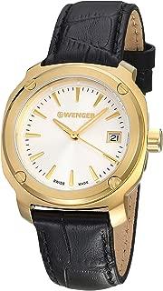 Wenger Edge Index Quartz Movement Silver Dial Ladies Watch 11121104