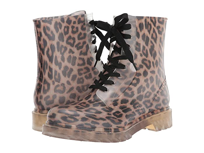Jessica Simpson  Rikie (Clear/Natural Leopard) Womens Shoes