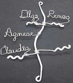Albero della famiglia,dell'amicizia e dell'amore con 4 nomi.Scegli i nomi che desideri.Preparazione e spedizione in 1 gior...